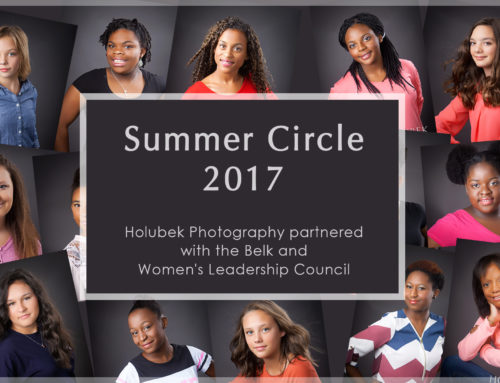 Professional hair, make-up and photo shoot for teenage girls to help build confidence at Summer Circle confidence camp